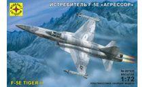 истребитель F-5E агрессор, сборные модели авиации, Моделист, scale72, самолет