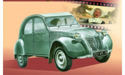 ситроен 2 CV, сборная модель автомобиля, Citroën, Моделист, 1:43, 1/43