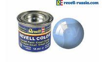 эмаль голубая прозрачная глянцевая, фототравление, декали, краски, материалы, краска, REVELL
