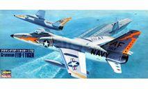 GRUMMAN F11F-1 TIGER, сборные модели авиации, самолет, HASEGAWA, 1:72, 1/72