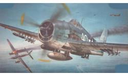 палубный истребитель F6F хэллкэт, сборные модели авиации, самолет, Моделист, 1:72, 1/72