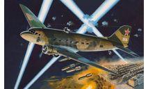 ночной бомбардировщик ЛИ-2НБ, сборные модели авиации, самолет, Восточный Экспресс, 1:144, 1/144