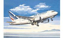 авиалайнер А-318 air france, сборные модели авиации, самолет, Восточный Экспресс, 1:144, 1/144