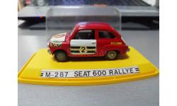 SEAT 600 RALLYE, масштабная модель, PILEN S.A., 1:43, 1/43