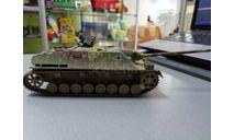 JAGDPANZER 4(собранный), сборные модели бронетехники, танков, бтт, бронетехника, италери, 1:35, 1/35