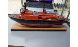 арктика (конверсия собранный), сборные модели кораблей, флота, корабль, огонек