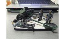 пушка с расчетом(собранные), сборные модели артиллерии, 1:35, 1/35