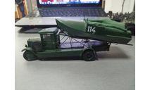 У-4 литер Н2П понтон парка(конверсия), масштабная модель, МАШИНА, 1:43, 1/43