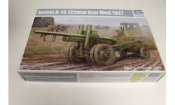 SOVIET A-19 122MM GUN MOD.1937, сборные модели артиллерии, ПУШКА, Trumpeter, 1:35, 1/35