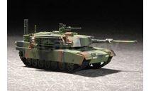 M1A1 ABRAMS MBT, сборные модели бронетехники, танков, бтт, Trumpeter, 1:72, 1/72