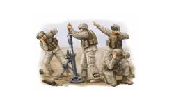 MODERN U.S.MARINE M252 TEAM, миниатюры, фигуры, Trumpeter, 1:35, 1/35