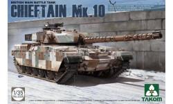 CHIEFTAIN MK.10, сборные модели бронетехники, танков, бтт, TAKOM, 1:35, 1/35