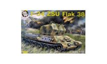 T-34 ZSU FLAK 38, сборные модели бронетехники, танков, бтт, БРОНЕТЕХНИКА, MW, 1:72, 1/72