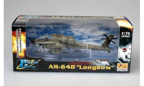 AH-64D LONGBOW, масштабные модели авиации, ВЕРТОЛЕТ, Easy Model, 1:72, 1/72
