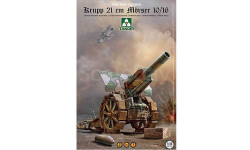 KRUPP 21CM MORSER 10/16, сборные модели артиллерии, TAKOM, 1:35, 1/35