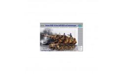 GERMAN 39(H)10.5CM LEFH18(SF)AUF GESCHUTZWAGEN, сборные модели бронетехники, танков, бтт, БРОНЕТЕХНИКА, Trumpeter, 1:35, 1/35