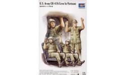 U.S.ARMY CH-47A CREW IN VIETNAM, миниатюры, фигуры, Trumpeter, 1:35, 1/35