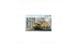 GERMAN JAGDPANZER E-100, сборные модели бронетехники, танков, бтт, Trumpeter, scale35, БРОНЕТЕХНИКА