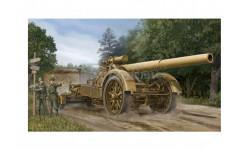 GERMAN 21CM MORSER 18, сборные модели артиллерии, Trumpeter, scale35, АРТИЛЕРИЯ