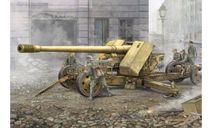 GERMAN 12.8-CM-KANONE 43 BZW.44(KRUPP), сборные модели артиллерии, Trumpeter, scale35