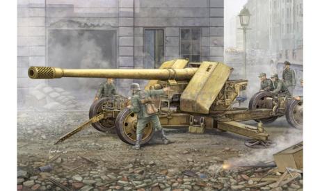 GERMAN 12.8-CM-KANONE 43 BZW.44(KRUPP), сборные модели артиллерии, Trumpeter, 1:35, 1/35