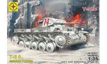 немецкий танк Т-2С, сборные модели бронетехники, танков, бтт, БРОНЕТЕХНИКА, Моделист, 1:35, 1/35