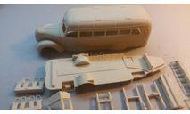 кит автобус ЗИС-16, сборная модель автомобиля, scale43