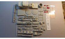 кит кабелеукладчик на шасси ЗИЛ-4331, сборная модель автомобиля, 1:43, 1/43