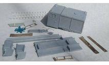 Кит кунга АЦ 3-40 на ЗиЛ 5301, сборная модель (другое), Конка, scale43