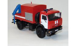 Камаз 4326 пожарный, масштабная модель, 1:43, 1/43, Конка