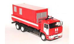 Камаз 65117 пожарный с электростанцией, масштабная модель, 1:43, 1/43, Конка