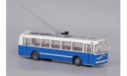 ЗиУ 5 бело-синий (ClassicBus), масштабная модель, 1:43, 1/43