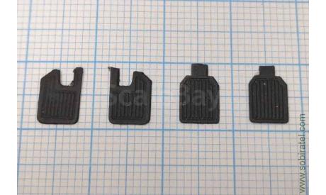 Комплект брызговиков Нива ВАЗ-2121 и ее модификаций из резины, запчасти для масштабных моделей, Max-Models, scale43