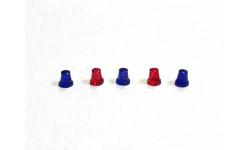 Мигалки стаканы FER DDR mix синий/красный цельнолитые