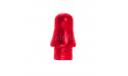 Мигалка цельнолитая каплевидная красного цвета, запчасти для масштабных моделей, scale43