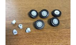Диски с резиной со ступицами для УАЗ-Хантер, запчасти для масштабных моделей, Max-Models, 1:43, 1/43