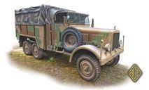 Einheits-Diesel Pritschenwagen (2,5t 6x6 LKW), сборная модель автомобиля, ACE, scale72
