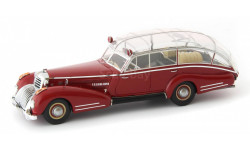 RARE!!! AUTOCULT 12006 Horch 853 AS12 Lepil 1938 (ЦЕНА СНИЖЕНА!!!), масштабная модель, 1:43, 1/43