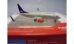 Boeing 737-700 SAS Herpa 1:500, масштабные модели авиации, Herpa Wings