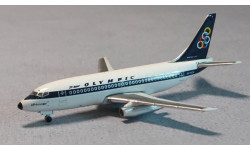 Boeing 737-200 Olympic Airway, масштабные модели авиации, Inflight 500