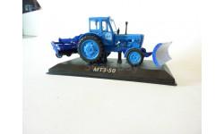 Трактор МТЗ-50 с коммунальным оборудованием, масштабная модель трактора, 1:43, 1/43