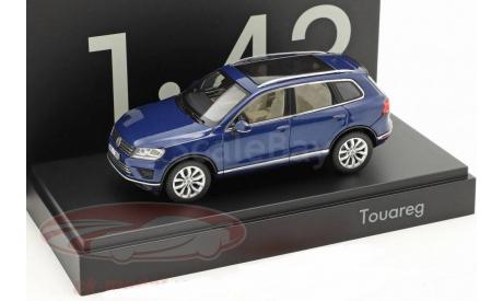 Volkswagen Touareg (Blue), масштабная модель, Herpa, 1:43, 1/43