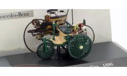 Mercedes-Benz Patent Motor Car, масштабная модель, Altaya, scale43