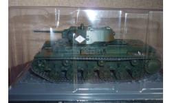 Танк КВ-1 образца 1942 года.Возможен обмен., масштабные модели бронетехники, DeAgostini (военная серия), 1:43, 1/43