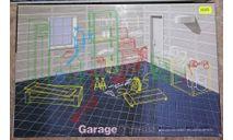 Сборная диорама 1/24 гараж  (Fujimi Garage), сборная модель (другое), scale24