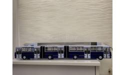 Автобус Ikarus 293 синий Икарус  СОВА, масштабная модель, Советский Автобус, scale43