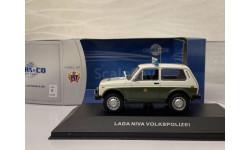 Нива ваз 2121 volkspolizei ccc040 cars&co, масштабная модель, scale43