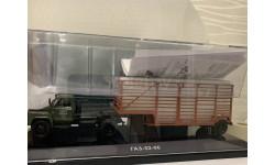 Горьковский автомобиль 52-06 тягач 'Мосторгтранс' и полуприцеп-таровоз, масштабная модель, DiP Models, scale43, ГАЗ