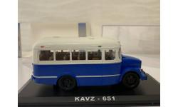 АВТОБУС Кавз 651 Сине-белый СССР CLASSICBUS 1:43, масштабная модель, 1/43