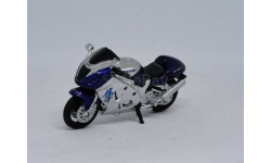 Мотоцикл Suzuki, 1/32, Cararama, масштабная модель мотоцикла, Bauer/Cararama/Hongwell, 1:32